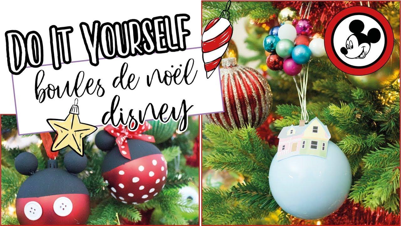 diy boules de noËl disney | the bright side - youtube