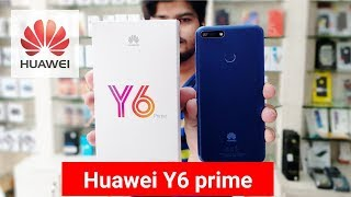 Huawei Y6 prime 2018   first unboxing in Pakistan