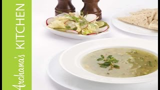 Vegetable Sweet Corn Soup Recipe By Archana's Kitchen