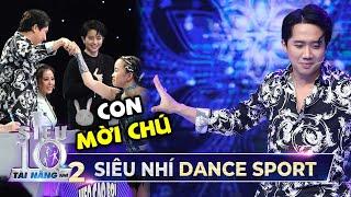 Siêu Nhí Dance Sport mời Trấn Thành lên nhảy cùng và cái kết   Tập 10 Super 10