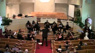 "Singing Strings Playing ""Bacchanale"" by Camille Saint-Saens"