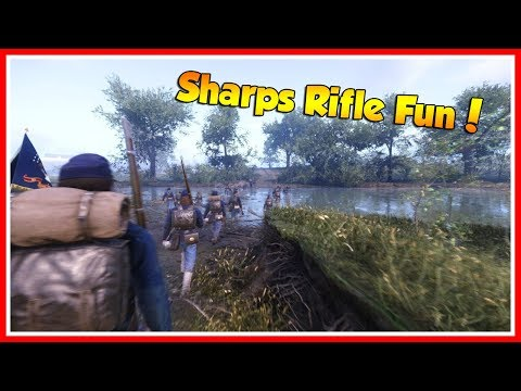 Sharps Rifle Fun! || War of Rights