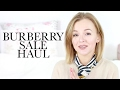 BURBERRY SALE HAUL AND TRY ON | SPRING HAUL 2017 | THECABLOOK