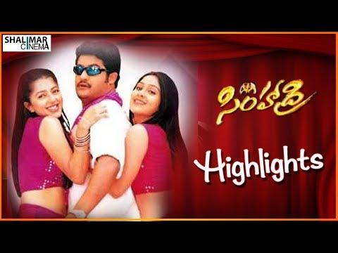Simhadri Telugu Movie Highlights || N. T. R, Bhumika Chawla, Ankitha || Shalimarcinema
