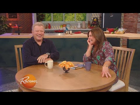 """""""Star Trek"""" Legend William Shatner Answers Rapid-Fire Questions From """"Rachael Ray"""" Audience"""