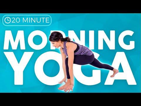 20 minute Full Body MOBILITY Morning Yoga 💙FEEL GOOD