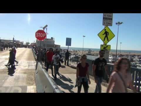 Santa Monica, CA: Gospel power plow throughout 3rd St. Promenade & Pier!