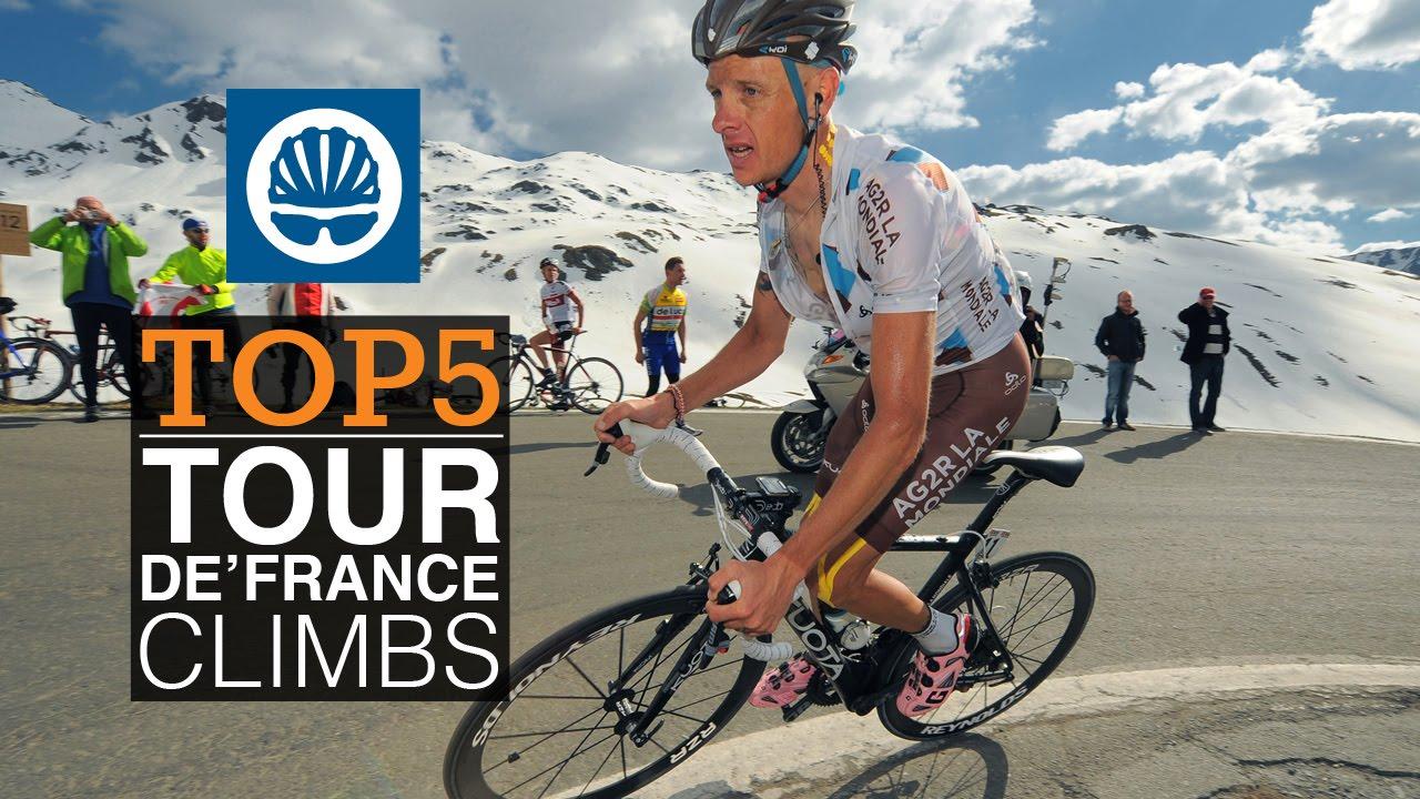 Top 5 - Tour de France Climbs - YouTube