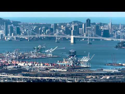 CMA CGM Benjamin Franklin at Port of Oakland