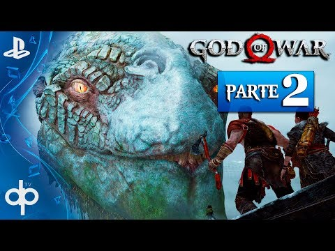 GOD OF WAR 4 PS4 Parte 2 Español Gameplay PS4 PRO | La Serpiente del Mundo MIDGAR (God of War 2018)