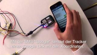 GPS Tracker Motorrad & Auto EC-V1 Funktionstest nach Installation