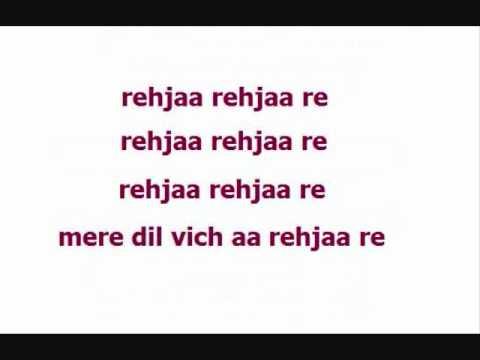 Rehja Re - Golmaal (Lyrics) HQ