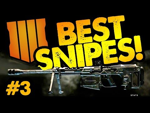 BEST SNIPER SHOTS From Live Streams // COD Black Ops 4 //Call of Duty Blackout Sniper Gameplay #3