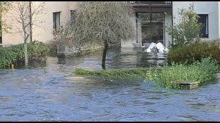Flooding at Backbarrow, Cumbria, December 2015