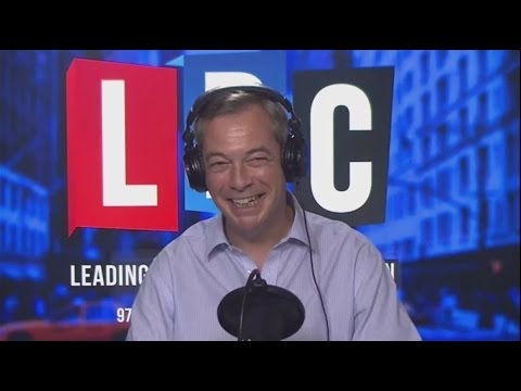 The Nigel Farage Show in New York - LBC Exclusive - House of Lords Brexit 01/03/2017