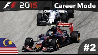 F1 2015 Gameplay Career Mode - Part 2 Malaysia