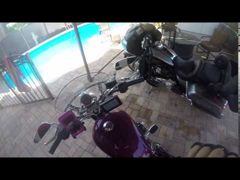The Mendoza's blessings Harley Davidson adventure bike 2017