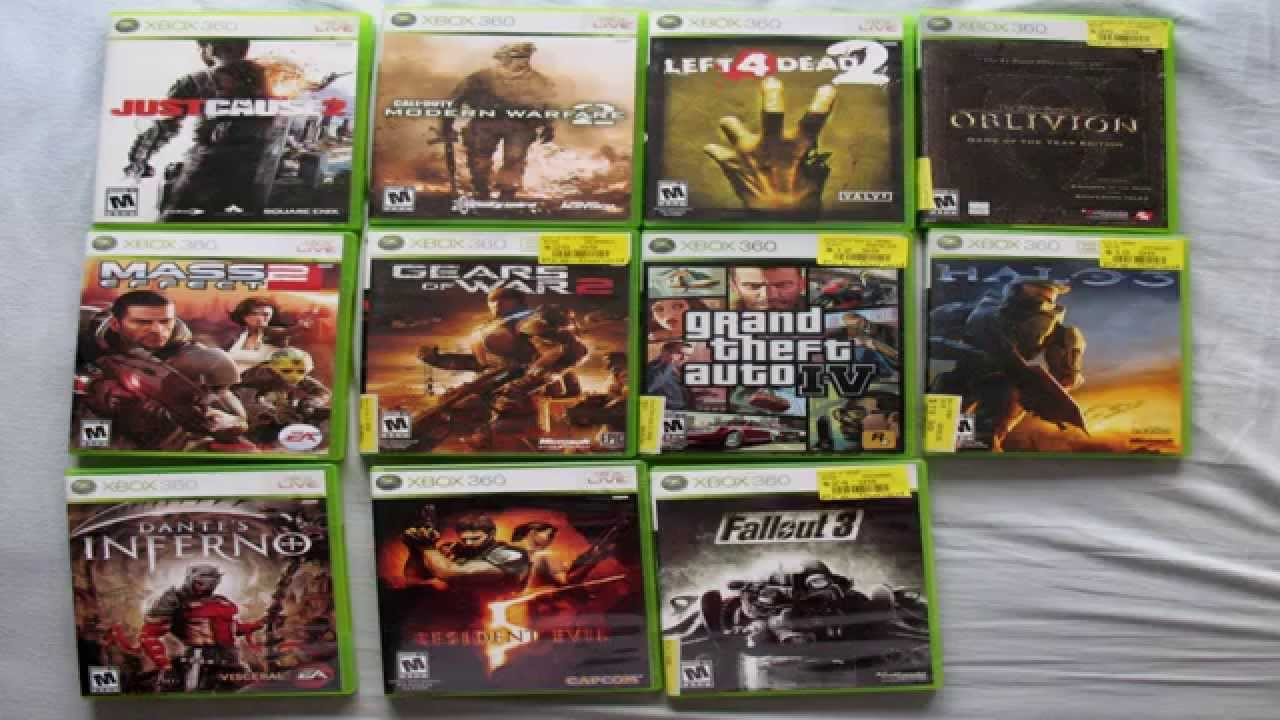 Selling my Xbox 360 games on eBay      YouTube