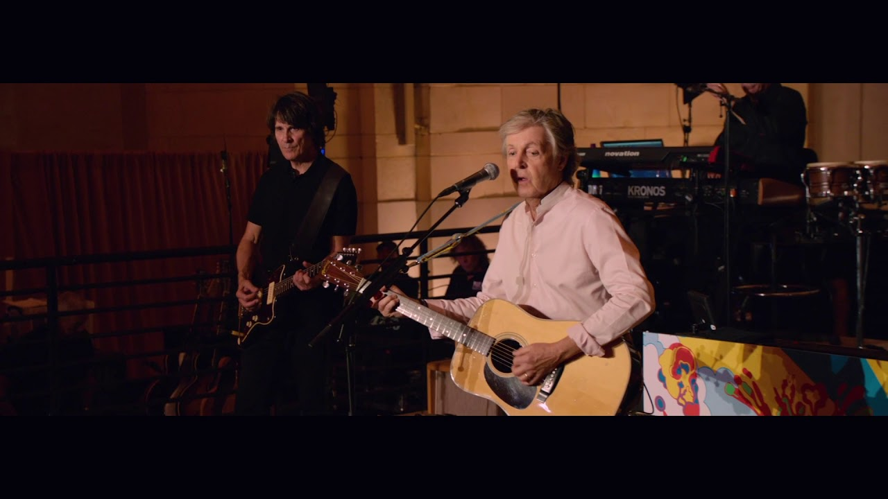 Download Paul McCartney 'FourFiveSeconds' (Live from Grand Central Station, New York)
