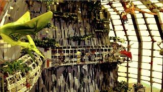 Lego Jurassic World Park MOC Dinosaur Diorama