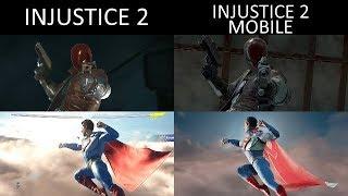 Injustice 2 vs Injustice 2 Mobile