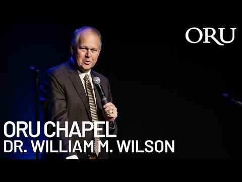 "ORU Chapel 2020: ""Vessel Of Honor"" By ORU President William M. Wilson   Feb. 12th, 2020"