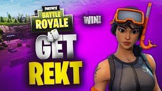 Get Rekt | Solo Win | Fortnite | No Commentary