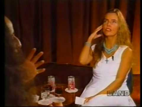 Bruna Lombardi entrevista Maria Bethânia no programa Gente de Expressão 1995 Parte 3 ReVerso
