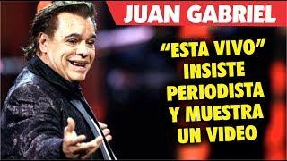 Periodista INSISTE que Juan Gabriel esta VIVO y muestra video