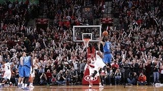 Monta Ellis Hits the Buzzer Beater to Beat the Blazers!