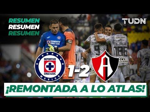 Resumen Y Goles | Cruz Azul 1 - 2 Atlas | Liga Mx - CL 2020 J1 | TUDN