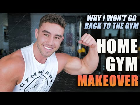 My Extreme HOME GYM Makeover | Perna Family Edition