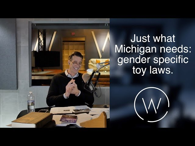Just what Michigan needs: gender specific toy laws.