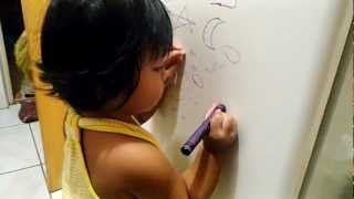 Rain sings bahay kubo, count numbers 1-20, draw, identify and recognize shapes & numbers