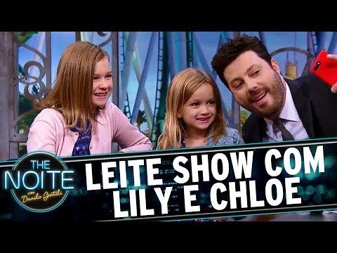 Leite Show com Lily e Chloe | The Noite (18/09/17)