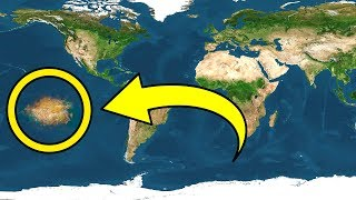 太平洋上で発見された新大陸!?