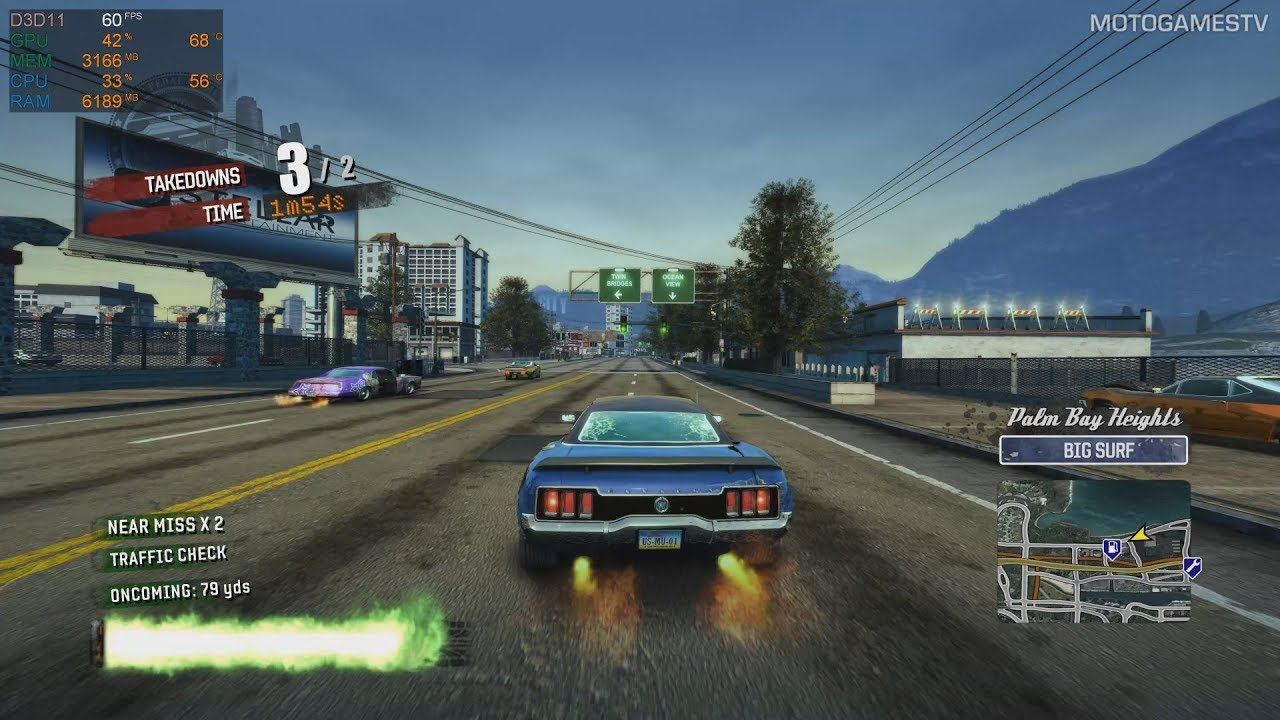 Burnout Paradise Remastered PC - GeForce GTX 1080 Gameplay [4K 60FPS]