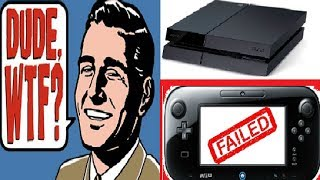 Sony and Nintendo Screwed Up!! PS4 Continues To Outsell Xbox One. Nintendo eShop SUCKS.