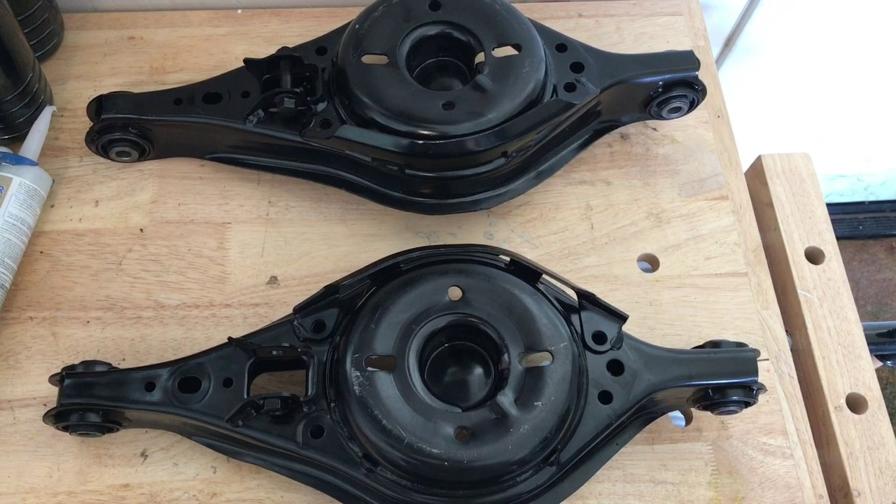 rear lower control arm replacement for 2006 ford fusion and mercury milan and mazda 6 [ 1280 x 720 Pixel ]