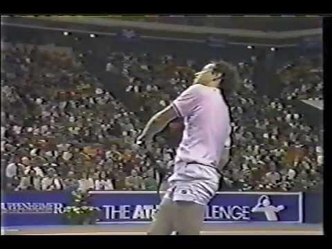 Boris Becker vs McEnroe Final - Atlanta 1986 - 07/11