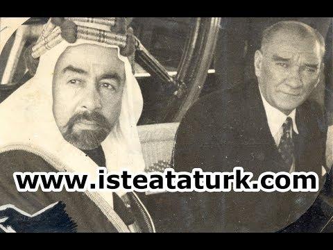 Mustafa Kemal Atatürk, Ürdün Kralı Abdullah ile Birlikte İstanbul'da (05-07.06.1937)