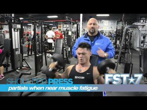 Hany Rambod's 70 Seconds on FST-7 Dumbbell Shoulder Press