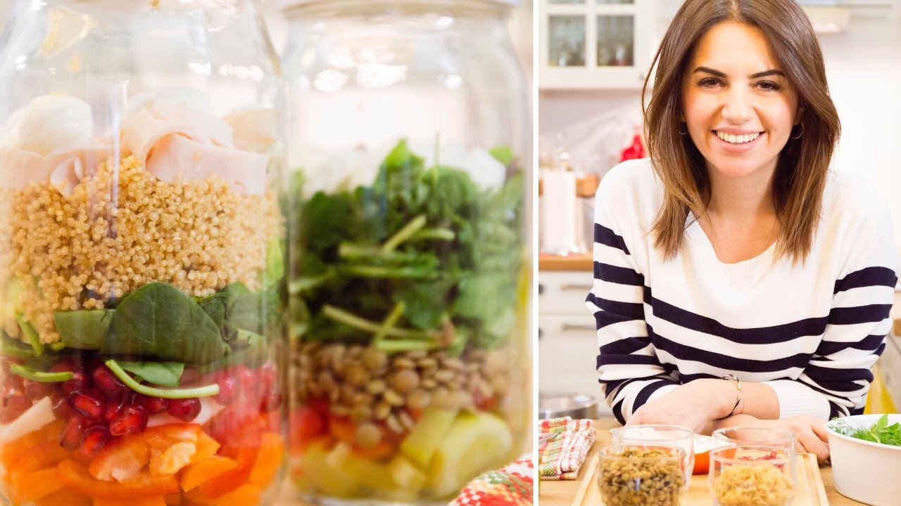 Kavanozda Salata | Salad Jars | İrem Güzey