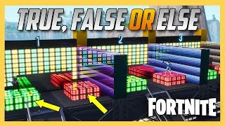 Fortnite Creative True False or Else with GamingWithGarry!