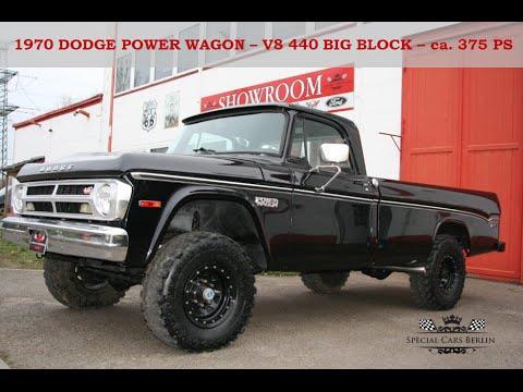1970 Dodge Power Wagon - V8 440 Big Block - 4x4 - Special Cars ...