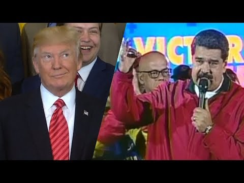 Venezuelan President Nicolas Maduro lambasts Donald Trump