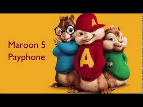 Payphone- Chipmunks