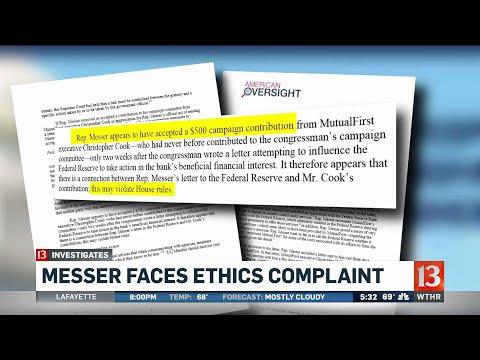Luke Messer faces ethics complaint