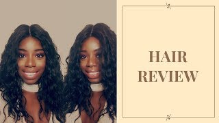 Wig review I Outre Quick Weave Tatiana