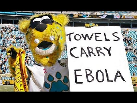 Brad Banks Responds to Jaguars Ebola Sign